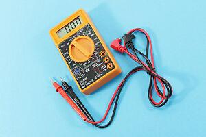DIGITAL LCD MULTIFUNKTIONSTESTER NEUE DIGITAL-MULTIMETER VIELFACHMESSGERÄT LEICH