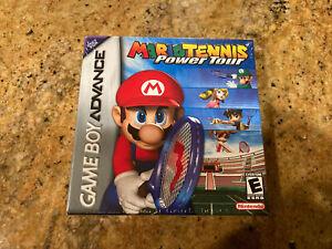 GBA - Mario Tennis: Power Tour Sealed New Mint Box