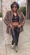 Designer Barguzin e Silver Tip Russian sable Fur Coat jacket bolero S-6 $40,000+