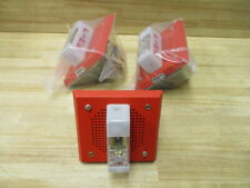 Wheelock E 7070 Wm 24 Fire Alarm Amp Strobe E7070wm24 Pack Of 3