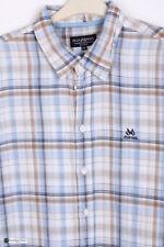 Camicie casual da uomo in lino taglia XXL
