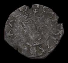 SPAIN, Valencia. Carlos II, 1665-1700. Copper Dinero