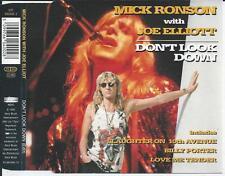 MICK RONSON with JOE ELLIOTT - Don't look down CDM 4TR UK 1994
