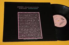 ETOSHA LP PRIVATE MUSIC IN THE LAND 1°ST ORIG 1985 TOP EXX+ AUDIOFILI