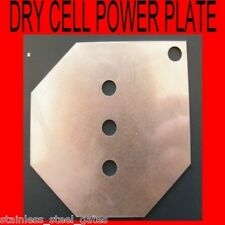 HHO  POWER  PLATES   MAKE YOUR OWN DRY CELL or  REBUILD