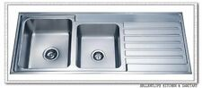 XL Classic Top mount 1- 3/4 Bowl 1120 500 Kitchen Sink Melbourne Free Shipping