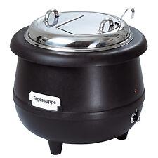Bartscher Topf Suppentopf Partytopf Gourmet 10 Liter schwarz   100047