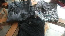 lot  de 2 tee shirts mc et 1 ml    taille 16 ans