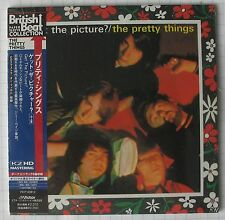 THE PRETTY THINGS - Get The Picture REMASTERED + 6 JAPAN MINI LP CD NEU! SEALED