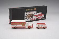 """Schuco / Mercedes L6600 & VW T1 Bus """"Henninger"""" Delivery Gift Set / #SHU05811"""