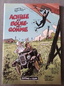 Achille et boule-de-gomme de Tillieux aux éditions de l'élan