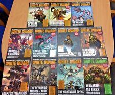 White Dwarf The Ultimate Warhammer Magazine - 11 Back Issues [Jan 2018 - Nov 201