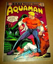 Aquaman 1967 #31 Vg/Fn Sharp Book,O.G.R.E. Hot Movie Coming!Classic Silver