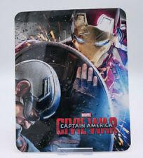 CAPTAIN AMERICA CIVIL WAR - Bluray Steelbook Magnet Cover (NOT LENTICULAR)