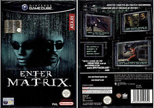 ENTER THE MATRIX - GAMECUBE NUOVO SIGILLATO, PRIMA EDIZIONE ITALIANA, RARO!