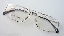 Coeln Optik 70er Pilotenbrille, sportlich, silberfarben 58-15 Gestell Gr. M