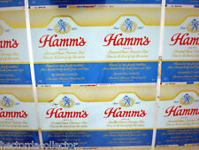 SALE ! 35 Unrolled Hamm's Beer Can Flats 1960's Steel Sheet Union St. Paul Minn