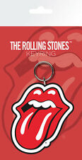 THE ROLLING STONES TONGUE LIPS RUBBER KEYRING NEW OFFICIAL MERCHANDISE