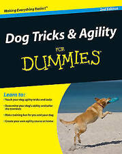 Dog Tricks and Agility For Dummies-ExLibrary