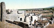 Los Pueblos de Taos, New Mexico - circa 1900 - Historic Photo Print
