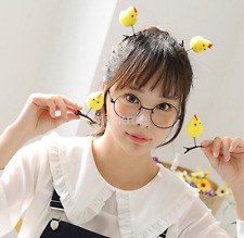 Yellow Girls Kids 3D Chick Hair Clip Kawaii Hairgrip Hair Accessory US