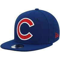 Chicago Cubs New Era 9Fifty Big XL Logo Threads Adjustable Snapback Hat NFL