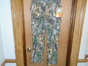 Realtree Women's No Scent C3 Smart Wick Pants Size Medium NWT