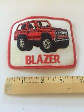 Chevrolet Patch Embroidered , Vintage Rare Chevy Blazer Patch Awesome