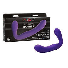 Strapless Strap-on 30 Speeds Silicone Waterproof, USB Rechargeable Calexotics