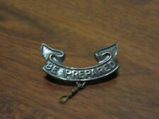 1930-40's Second Class Patrol Leader Campaign Hat Pin, silver color  es