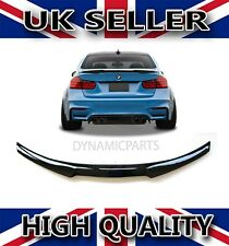 BMW 3 SERIES F30 M4 V STYLE REAR TRUNK BOOT SPOILER GLOSS BLACK