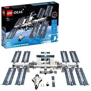 LEGO Ideas International Space Station 21321 Building Kit (864pcs)