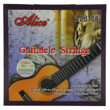a3e562bb95b Alice Guitalele String Set 6 Strings Nylon   Silver Plated Alloy Wound  Strings