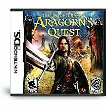 Lord Of Rings Aragorn's Quest - Nintendo Ds Nds
