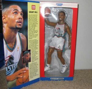 "1997 Starting Line Up 12"" Grant Hill Figure New In Box NIB"