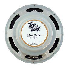 """Tone Tubby 10"""" Silver Bullet Alnico Hempcone Guitar Speaker 8 ohm NEW +Warranty"""
