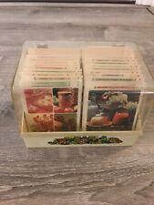 1971 Vintage Betty Crocker Recipe Card Library Yellow Box Index