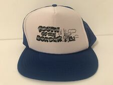 Vintage South of The Border Trucker Snapback Hat Cap 80's 90's