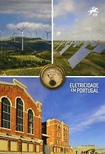 Portugal 2018 CTO Electricity 4v Set 1v M/S Special Folder Science Stamps