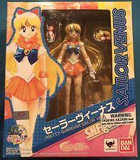 Sailor Moon Bandai SH Figuarts Sailor Venus 100% AUTHENTIC - Minako Anime Figure