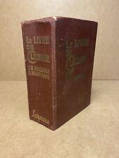 LE LIVRE DE CUISINE DE  MME E.SAINT-ANGE 1927, LIBRAIRIE LAROUSSE