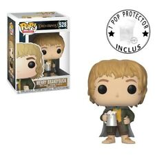 FIGURINE FUNKO POP LORD OF THE RING MERRY BRANDYBUCK AVEC HEROES PROTECTOR