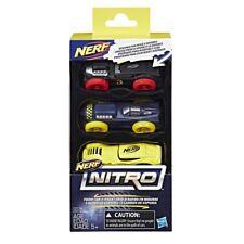 100% Hasbro NERF NITRO FOAM CAR 3Pack (SET 4) 2017 NEW IN-STOCK