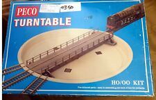 More details for un-used peco lk-55 oo gauge turntable kit none motorised boxed