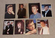 More details for rick astley 7 x postcard set 1987 - 1988 uk pop pwl retro vintage rare
