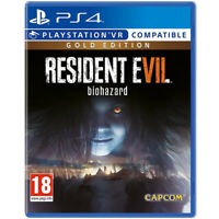 Resident Evil 7 Gold Edition Video Game For Sony PS4/PSVR Console New Sealed New