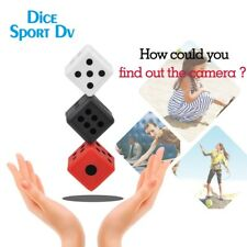 Mini Dice HD Spy Hidden Camera Motion Detect IR Night Cam Sports DV DVR Recorder