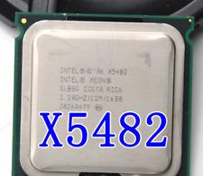 2PCS Intel Xeon X5482 3.2GHz 12MB 1600MHz (SLBBG)(SLANP) LGA771 Processor