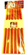 Pack of 12 Pairs Traditional Chopsticks/bamboo Sticks with Patterns