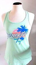 Sarasota  Florida Beach Sunset Mint Green Tank Top T Shirt NWT Size Small